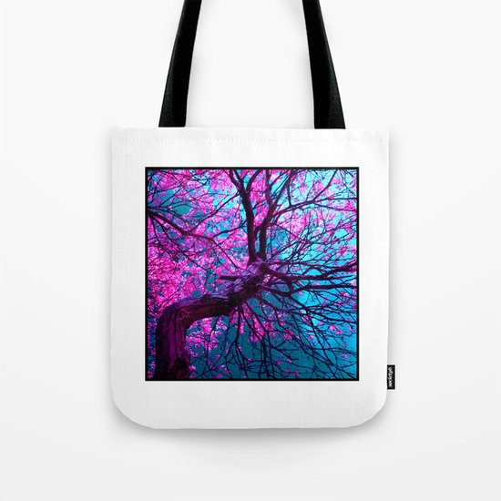 purple tree XII Tote Bag