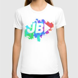 JB YouTube Splat T-shirt