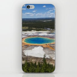 grand prismatic spring iPhone Skin