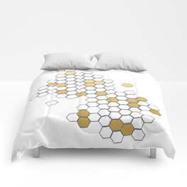 Honey Comb Comforters