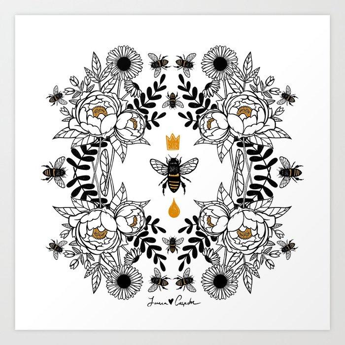 Queen Bee Kunstdrucke