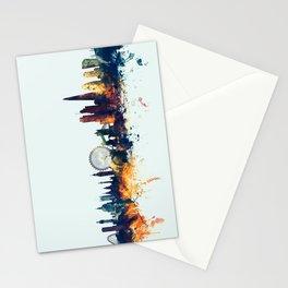 London England Skyline Stationery Cards