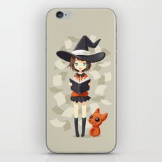 Little Witch 2 iPhone & iPod Skin