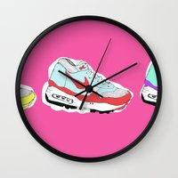 nike Wall Clocks featuring Nike Air by caseysplace