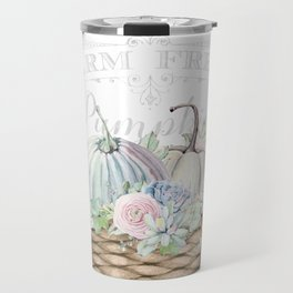 Pumpkin Patch Basket Travel Mug
