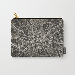 manchester map ink lines Carry-All Pouch