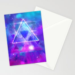Space Vector 3 - Synth Galactic Vaporwave Stationery Cards
