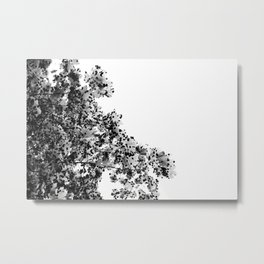 Polka dotted Tree Metal Print