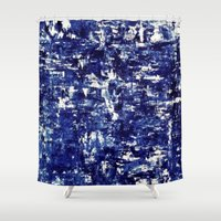 iceland Shower Curtains featuring Iceland - Greenland by Alison McLean
