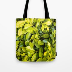 Too much green leaves Tote Bag