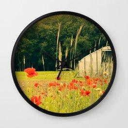 Farmshare Flowers: June 2017 Wall Clock