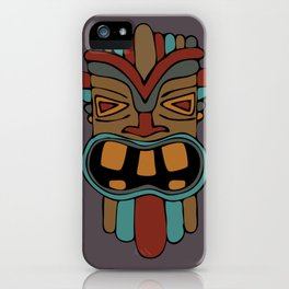 Tiki 1 iPhone Case