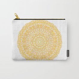 Mandala 13 / 1 yellow Citrine Carry-All Pouch
