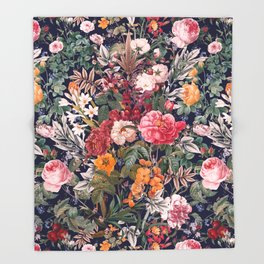 Magical Garden - III Throw Blanket