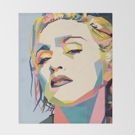 Madonna Throw Blanket