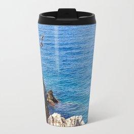 Cap Ferrat Cliff Jumpers Travel Mug