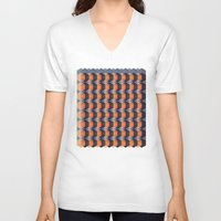 geo V-neck T-shirts featuring geo  by Little Things Studio