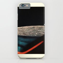apollo xi earthrise through the lem vintage Poster iPhone Case