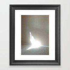 Angel In My Room Framed Art Print