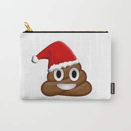 Christmas poop emoji Carry-All Pouch