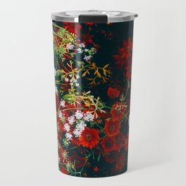 The Flower Bed (Color) Travel Mug