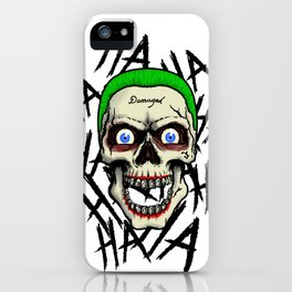 Laughing Skull iPhone Case