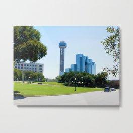 Reunion Tower, Dallas Metal Print