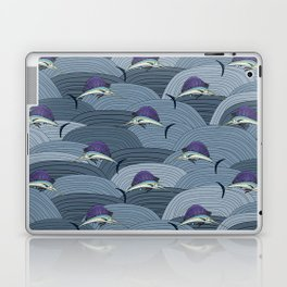 Swordfish Espadon | Pattern Art Laptop & iPad Skin