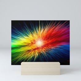 The Digital Universe is Born Mini Art Print