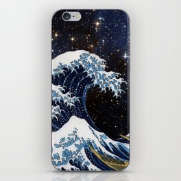 Hokusai & LH95 iPhone Skin