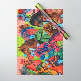 Happy Hobby-Horses Wrapping Paper