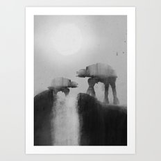 Big Walker Is Watching You Art Print