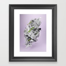 Organic Primitive Framed Art Print