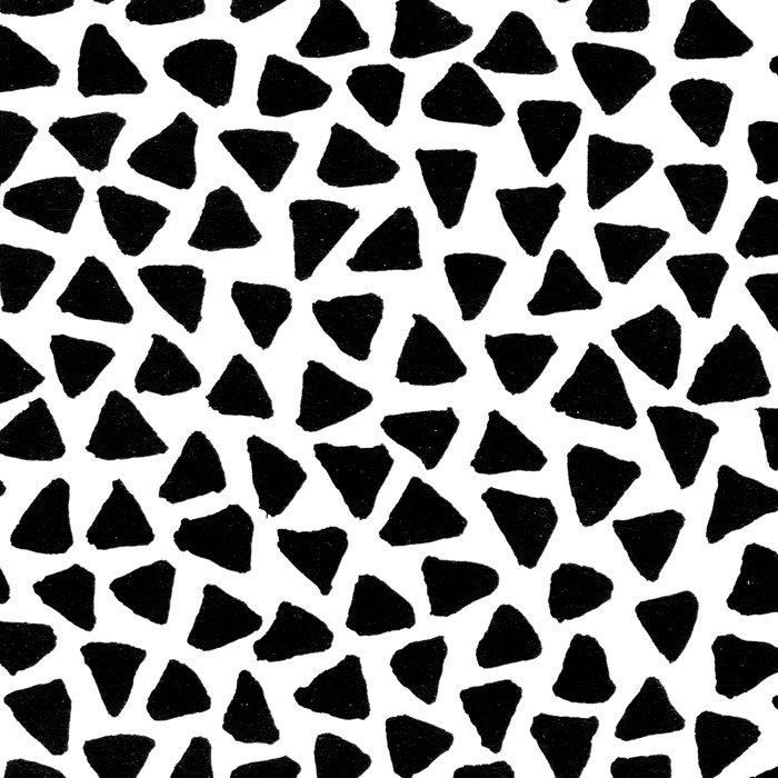Black Triangles Leggings