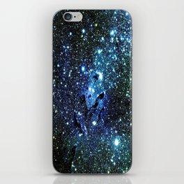 Ocean Blue Space Galaxy : Eagle Nebula iPhone Skin