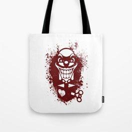 Clown Jack Tote Bag