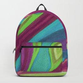Fragmento de matices de vida Backpack