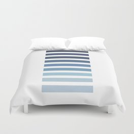 Sky and Water Blue Palette Duvet Cover