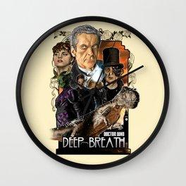 Doctor Who: Deep Breath Wall Clock