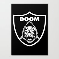 doom Canvas Prints featuring Doom by Buby87