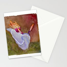 The tiny purple one Stationery Cards