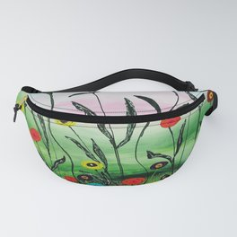 Growing to the light by Ans Duin Fanny Pack
