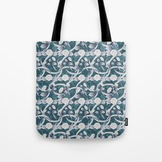 paper cut deco rose Tote Bag