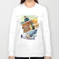 gta v Long Sleeve T-shirts featuring Breaking Bad mashup GTA V  by Akyanyme