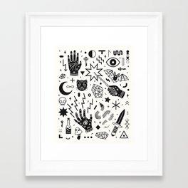 Witchcraft II Framed Art Print
