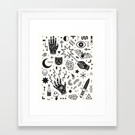Witchcraft II Framed Art Print