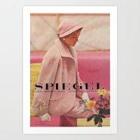 1954 Spring/Summer Catalog Cover Art Print