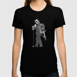 Johnny Cash Sugar Skull // Digital // Mixed Media T-shirt