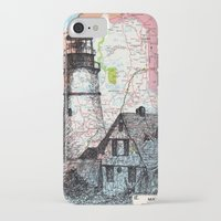 maine iPhone & iPod Cases featuring Maine by Ursula Rodgers