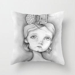 San Francisco, mon amour Throw Pillow